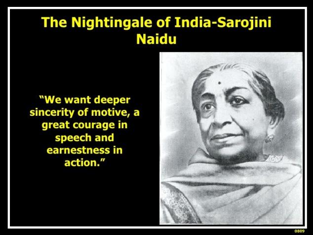 Pic # 4 Sarojini Naidu